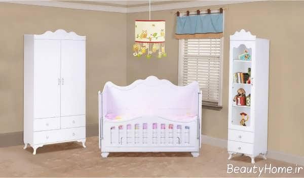 مدل سرویس خواب ساده برای نوزاد