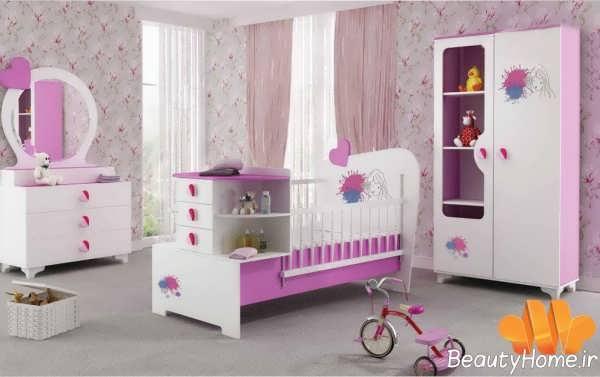 مدل تخت نوزاد