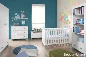 سرویس خواب ساده و سفید برای نوزاد