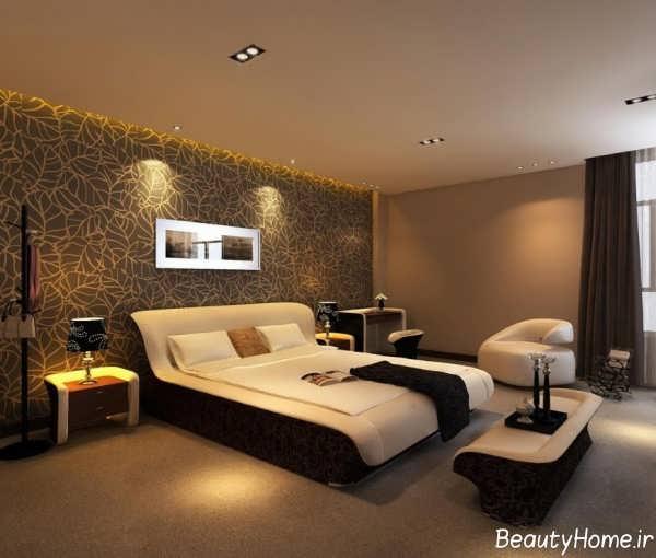 طراحی نورپردازی برای اتاق خواب