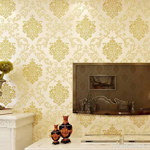 مدل کاغذ دیواری زیبا و شیک