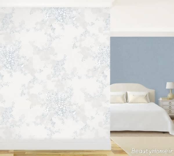 مدل کاغذ دیواری طرح دار