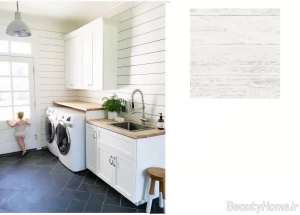 کاغذ دیواری رنگ روشن برای آشپزخانه