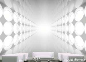 کاغذ دیوای روشن و سه بعدی