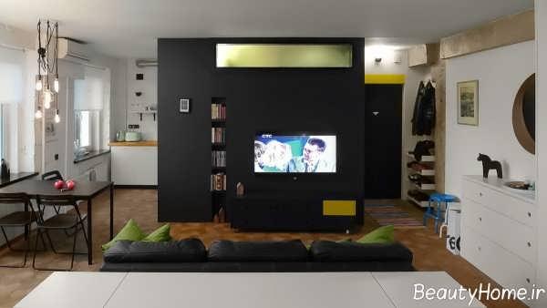 دیزاین دکوراسیون خانه 50 متری