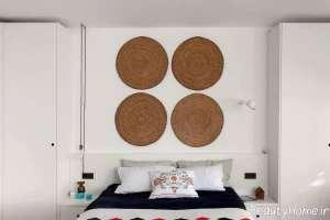 دکوراسیون سفید اتاق خواب