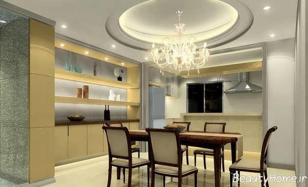 طراحی سقف زیبا برای آشپزخانه