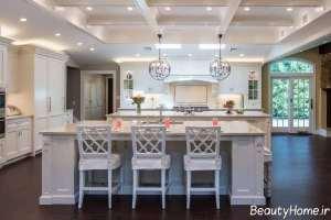 طراحی زیبا برای سقف آشپزخانه