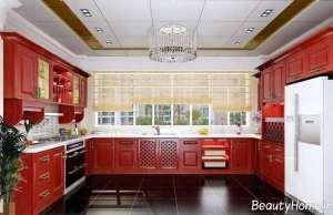 طراحی نورپردازی برای سقف آشپزخانه کلاسیک