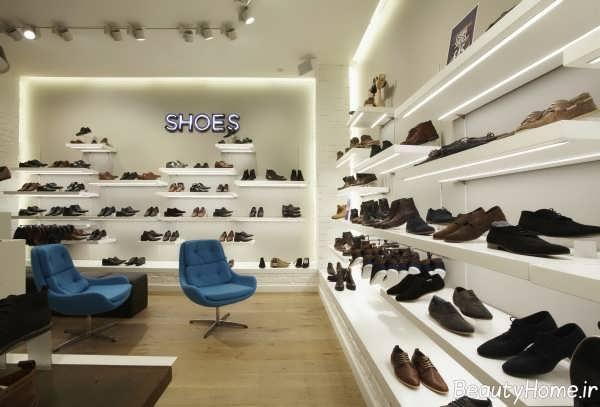 دکوراسیون فروشگاه کفش