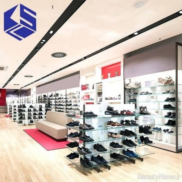 طراحی دکوراسیون مغازه کفش
