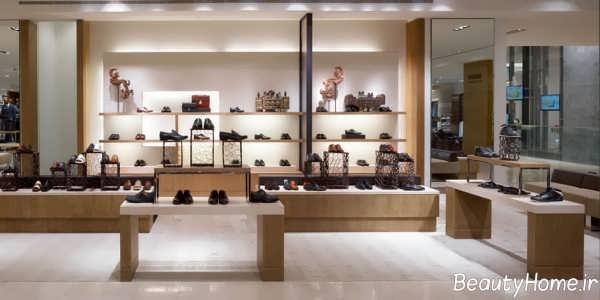 طراحی نورپردازی فروشگاه کفش