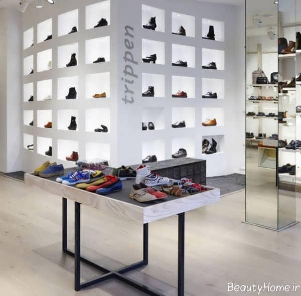 طراحی مغازه کفش