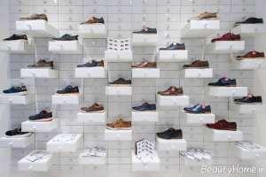 طراحی دکوراسیون فروشگاه کفش