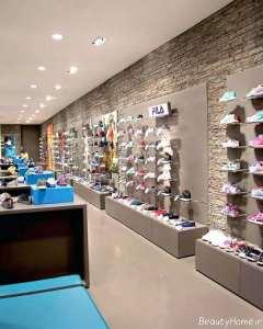 طراحی داخلی مغازه کفش فروشی