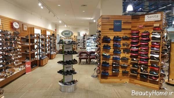 دکوراسیون داخلی فروشگاه کفش