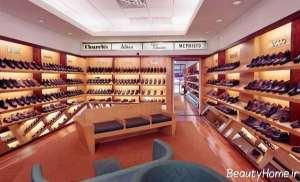 نورپردازی فروشگاه کفش