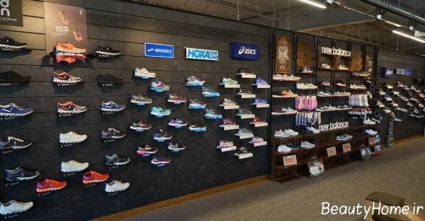 طراحی داخلی فروشگاه کفش