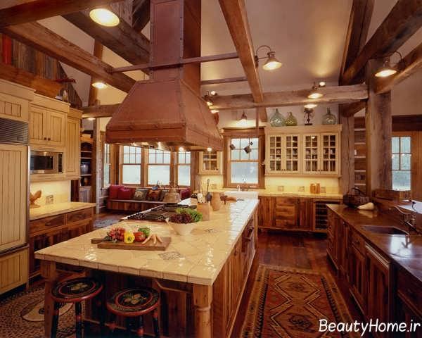 دکوراسیون خانه چوبی شیک