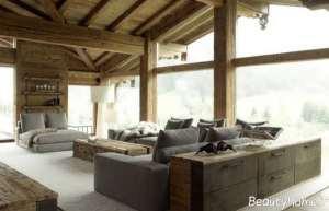 دکوراسیون خانه چوبی