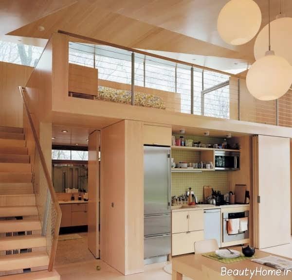 دیزاین خانه چوبی
