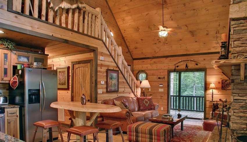 طراحی خانه چوبی
