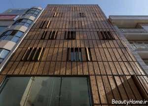 نمای ساختمان آپارتمانی