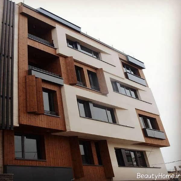 دیزاین نمای خارجی ساختمان