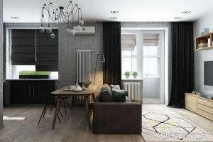 طراحی داخلی خانه کوچک