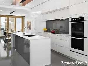 مدل کابینت سفید و زیبا