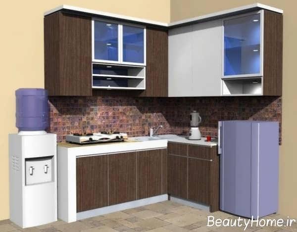 مدل کابینت جدید برای آشپزخانه کوچک