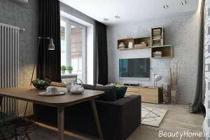 طراحی زیبا و شیک خانه آپارتمانی