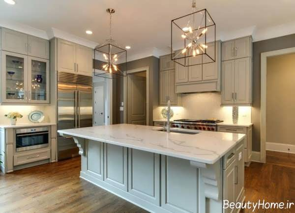 دکوراسیون کلاسیک آشپزخانه