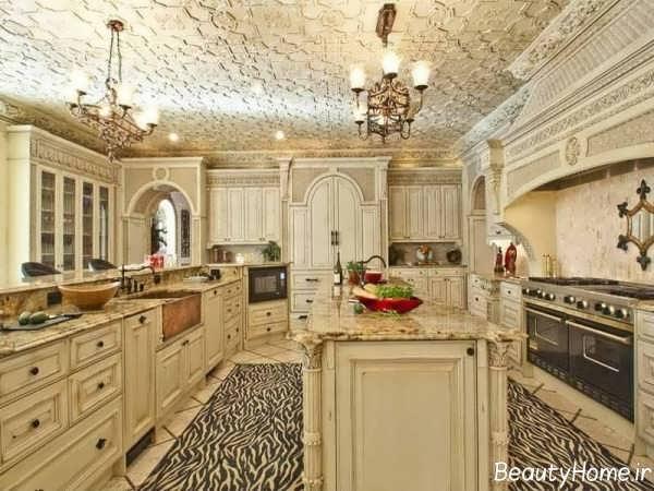 دکوراسیون مجلل آشپزخانه