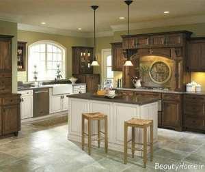 طراحی داخلی آشپزخانه های عربی