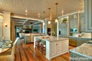 دکوراسیون زیبا و شیک آشپزخانه عربی