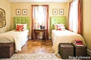 دکوراسیون اتاق خواب کودک دو تخته