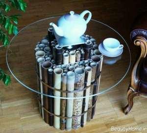تزیین شیک منزل با چوب بامبو