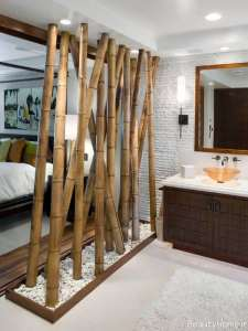 تزیین منزل با کمک چوب بامبو