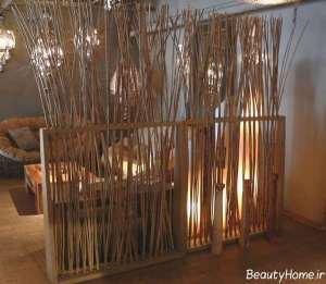 تزیین شیک و زیبا منزل با چوب بامبو