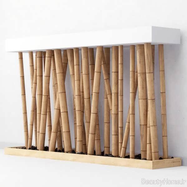 تزیین منزل با چوب بامبو با چند ایده جدید و متفاوت