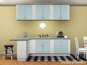 مدل کابینت برای آشپزخانه کوچک