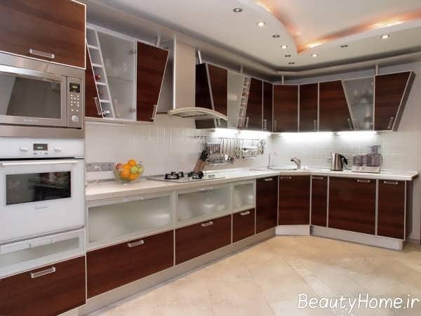 مدل کابینت آشپزخانه شیک و جدید