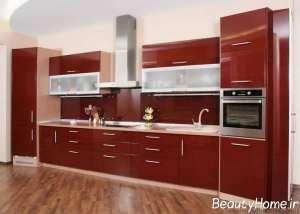 مدل کابینت زیبا و مدرن برای آشپزخانه
