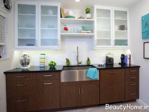 مدل کابینت زیبا و جدید برای آشپزخانه