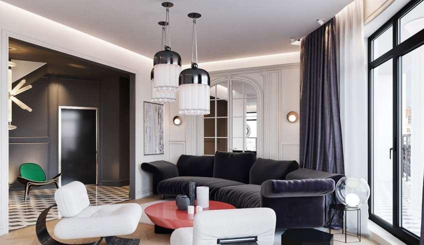 دکوراسیون خانه آپارتمانی مدرن