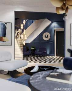 دکوراسیون اتاق نشیمن مدرن و زیبا