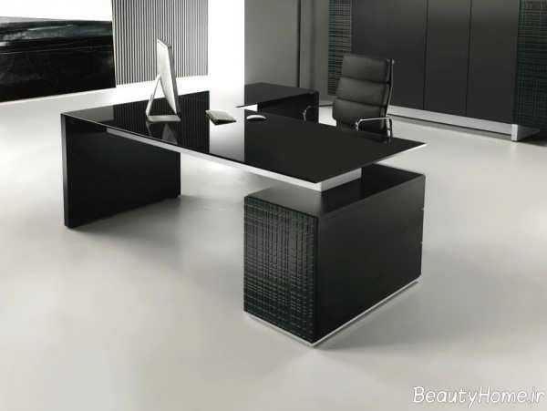 میز مدرن و زیبا اداری