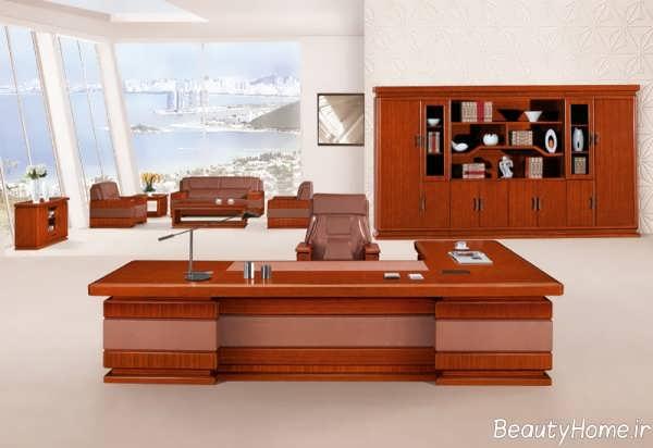 مدل میز مدیریت زیبا