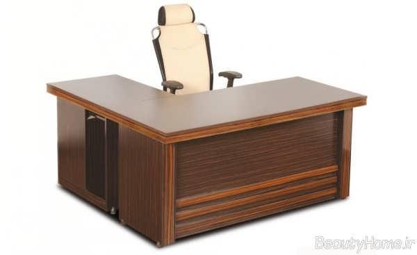 میز اداری ساده و کلاسیک
